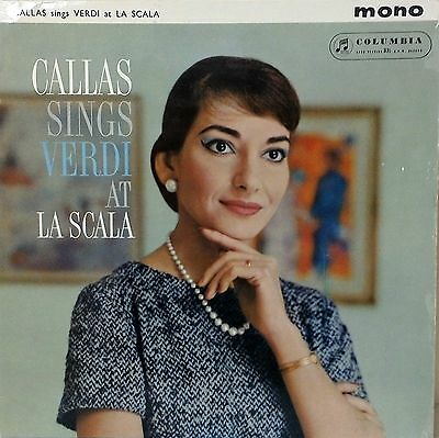 33CX 1681 *BLUE/GOLD* MARIA CALLAS* SINGS *VERDI at LA SCALA* MONO~UK VINYL LP