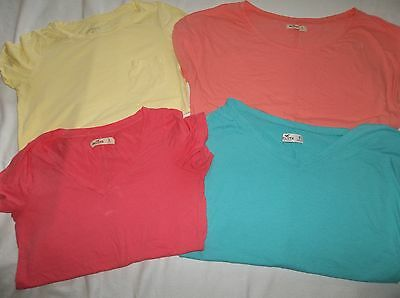 Lot 4 Women's Girl's T-shirts/Tops Hollister/Am.Eagle-Size Small