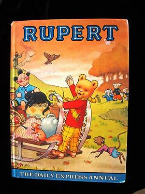 Genuine Vintage Rupert The Daily Express Annual 1978 38 Years Old!
