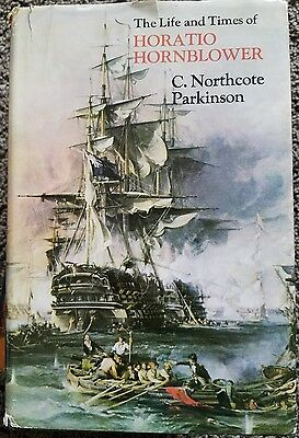The Life and Times of Horatio Hornblower Parkinson HBDJ 1970 1st Edition