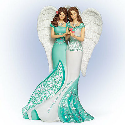 Always My Sister Angel / Angelic Figurine - Bradford Exchange