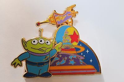 Pin Pins Disney Paris - Alien Parade - Anniversaire 25 Ans - New Nouveau Le 700