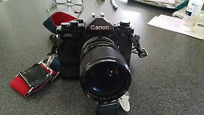 CANON A-1 35mm CAMERA WITH STRAP