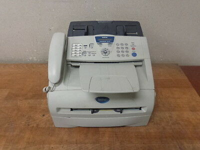 BROTHER INTELLIFAX 2820 Fax Machine FAX-2820 w/Toner WORKING Free Shipping