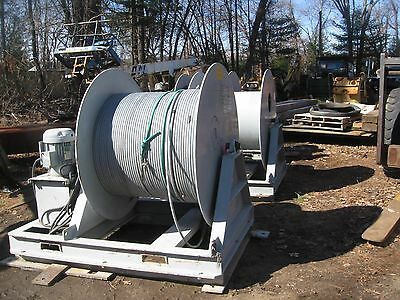 Interocean Systems  Cable laying Winch, Model 1531, Hydraulic Electric