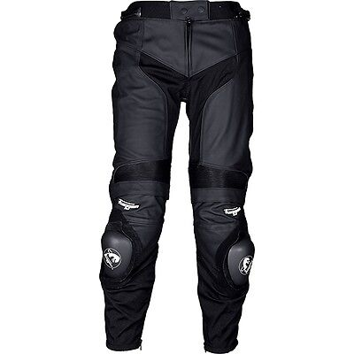Furygan Veloce Black Mens Moto Motorcycle Motorbike Leather Trouser All Sizes