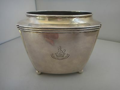 Georgian Sterling Silver Waste Bowl Exeter 1798