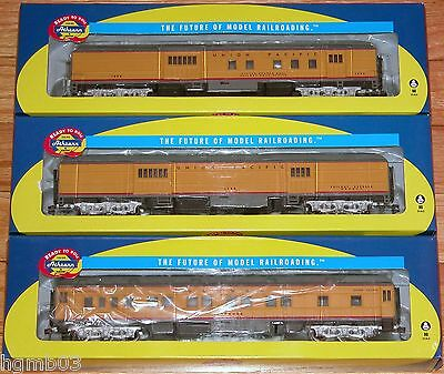 Athearn Heavyweight Union Pacific 6 Cars Baggage Rpo Pullman Dining Coach Observ