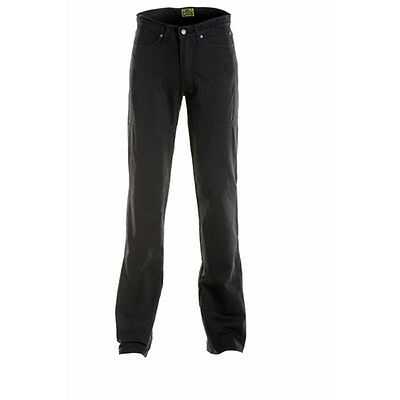 Draggin Classic Short Leg Black Motorcycle Short Length Denim Jeans All Sizes