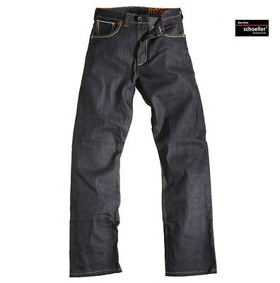 Rokker Original Rokker Raw Motorcycle Motorbike Selvage Denim Jeans All Sizes