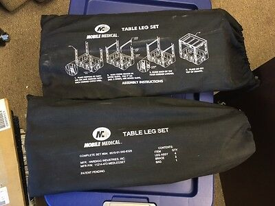 Two-Leg Sets For HARDIGG/PELICAN Cases. Turn Your Shipping Case Into A Table
