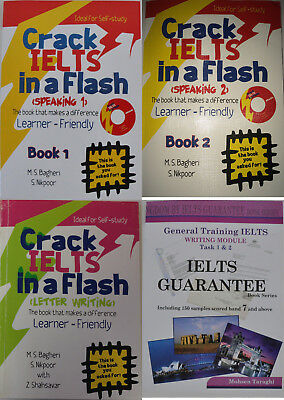 4 General Books Essential IELTS Must Read Package Speaking + Writing