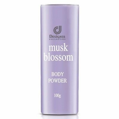 NEW STOCK ! 3 x Cosway : Designer Collection Musk Blossom Body Powder ( 100g )