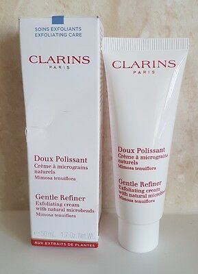 Clarins Doux polissant Gentle Refiner Exfoliating Cream With Natural Microbeads