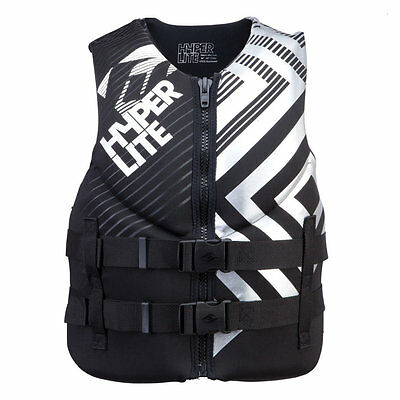 HYPERLITE Neo Vest Neoprene vest Lifejacket Collition protector vest black