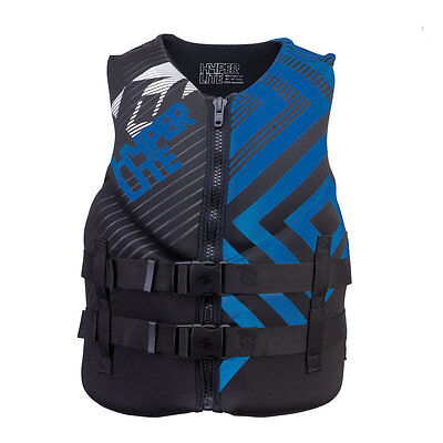 HYPERLITE Neo Vest Neoprene vest Lifejacket Collition protector vest blue