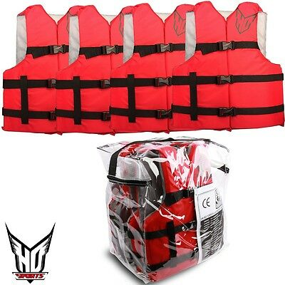 HO SPORTS Universal Swimming Vest Life Jacket Nylon Vest Bootsweste SET