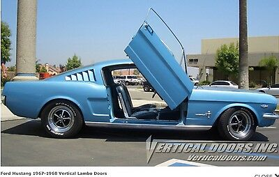 Ford Mustang 1967 Vertical Lambo Doors