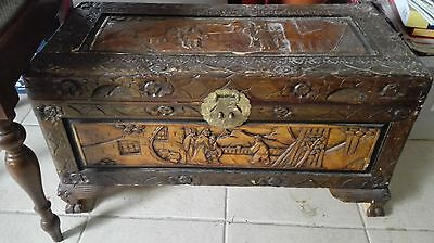 Antique Chest Wood Box