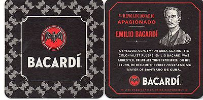 Bacardi Freedom Fighter Drink Coaster