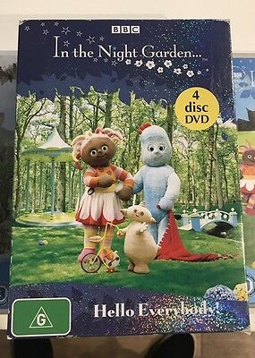 IN THE NIGHT GARDEN & WAYBALOO DVDs for Kids - 6 in total