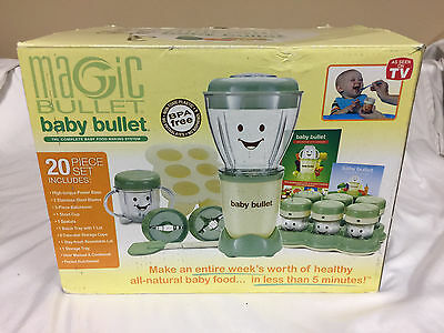 Magic Bullet - Baby Bullet - The Baby Food Making System