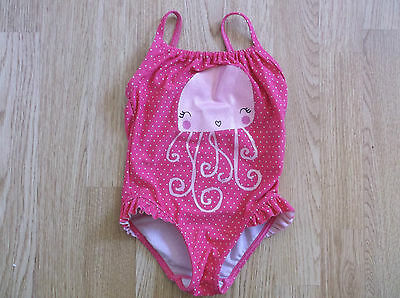 Girls Pink Swimsuit age 18-24 Months from Debenhams