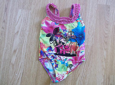 Girls  floral Swimsuit age 18-24 Months from George