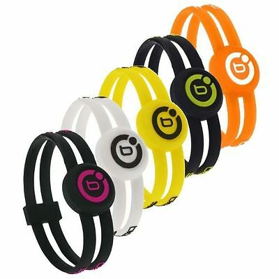 80%OFF RRP Bioflow Sport Twin Magnetic Wristband Silicone Bracelet