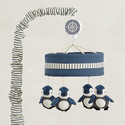 Lambs & Ivy Signature Mason Collection Musical Mobile Penguines NEW NIB