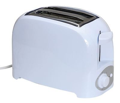 Quest Low wattage 2 slice white toaster