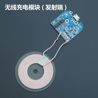 Wireless Charger Module Transmitter Base PCBA Board + Coil Universal QI