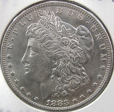 #2837 Raw MS+++ Choice Quality 1883-O Morgan Silver Dollar No Reserve