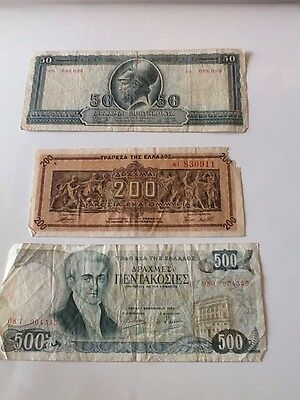GREECE 1955 1 March 50 Drachmai And More