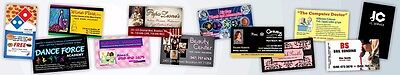 10,000 Full Color Double Sided Custom Business Cards - Full Color,Digital