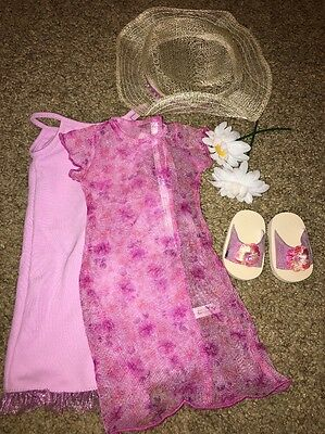 Authentic American Girl Today Garden Party Outfit  In box RETIRED!