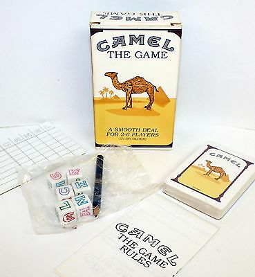 Collectible Camel Promo Promotional 1992 Camel The Game For 2-6 Players