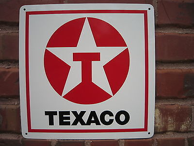 Texaco Gas Station Pump Service Station Garage Sign