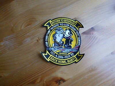 Tomcat VF-31 Badge Tomcatters Patch Back Bethpage Last Felix Navy USS Final 2006