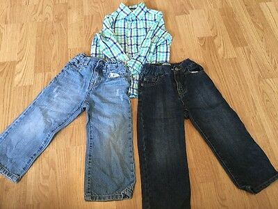 Lot of Boys Clothes Size 2T