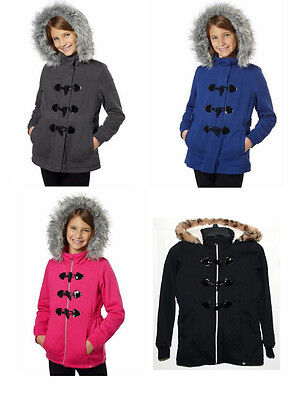 NEW Limited Too Girls' Hooded Sherpa Lined Jacket Color & Size Variations