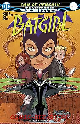 Batgirl #11 (2017) 1St Printing Bagged & Boarded Dc Universe Rebirth