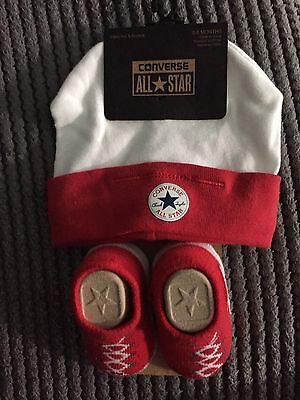 Baby Converse Hat And Socks Set