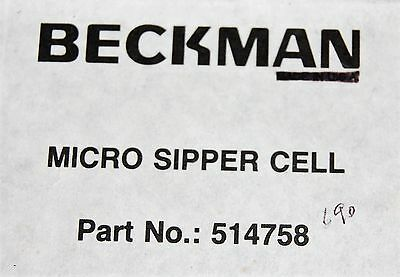 Beckman Micro Sipper Cell