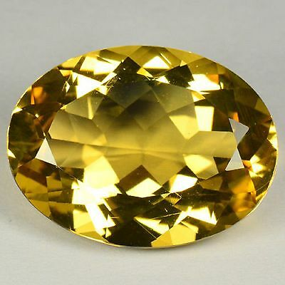 14.86 Cts Quality Golden Yellow Color Natural Andesine Gemstones- Vs