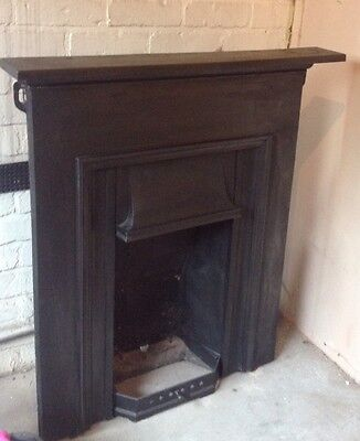 Victorian / Edwardian Cast Iron Combination Fireplace