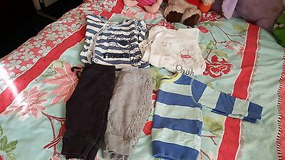 Boys Clothes Bundle Age 6-9 Months Next And George
