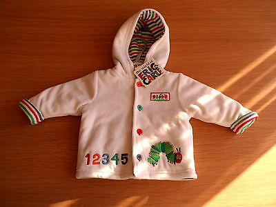 New with tags - HUNGRY CATERPILLAR  HOODIE / JACKET  0-3 MONTHS