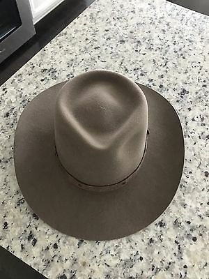 """Authentic Pony Express Pure Wool Stetson Size 7 3/8"""" Hat"""