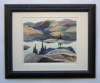 "Franklin Carmichael, Group of Seven ""Mirror Lake"" Limited Edition framed Print"